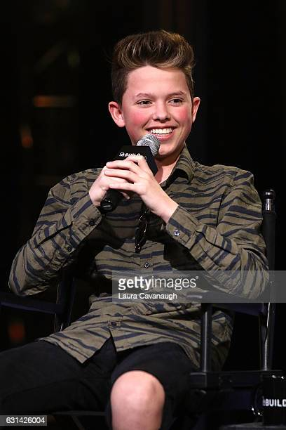 Jacob Sartorius attends Build Presents to discuss The Last Text World Tour at AOL HQ on January 10 2017 in New York City