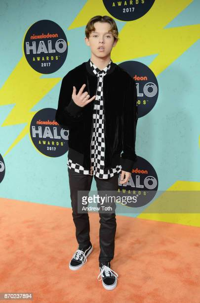 Jacob Sartorius attends the 2017 Nickelodeon HALO Awards at Pier 36 on November 4 2017 in New York City
