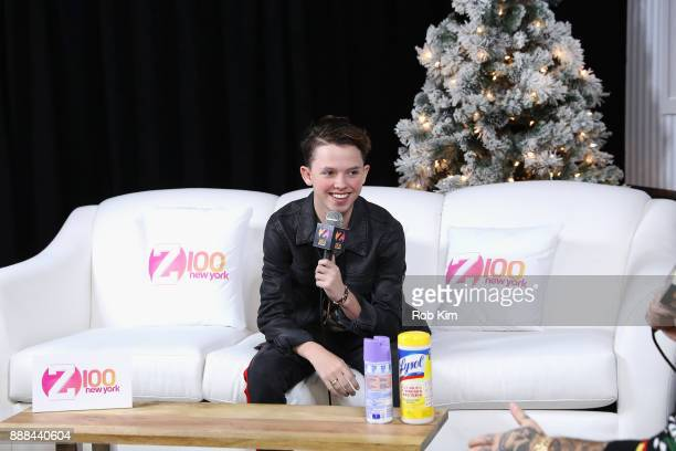 Jacob Sartorius attends the Z100 CocaCola All Access Lounge at Hammerstein Ballroom on December 8 2017 in New York City