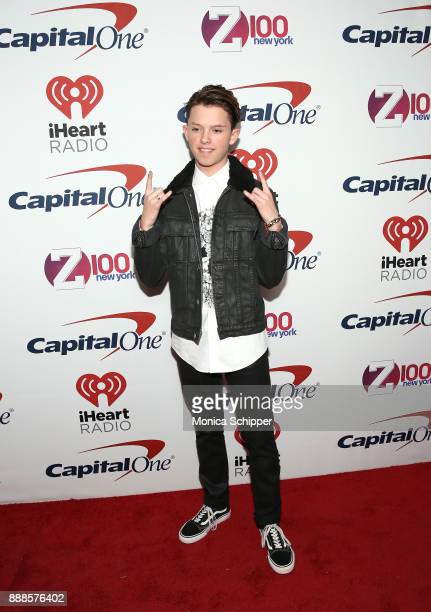 Jacob Sartorius attends the Z100's Jingle Ball 2017 press room on December 8 2017 in New York City