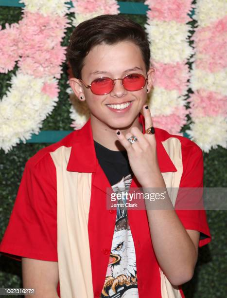 Jacob Sartorius attends TigerBeat And Instagram's 3rd Annual 19Under19 Celebration at Farmhouse LA on November 01 2018 in Los Angeles California