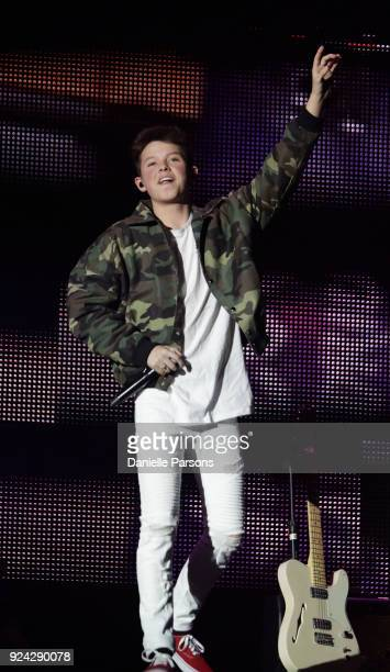 Jacob Sartorius performs at The Wiltern on February 25 2018 in Los Angeles California