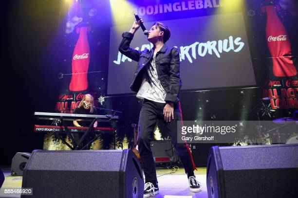Jacob Sartorius performs at the Z100 CocaCola All Access Lounge at Hammerstein Ballroom on December 8 2017 in New York City