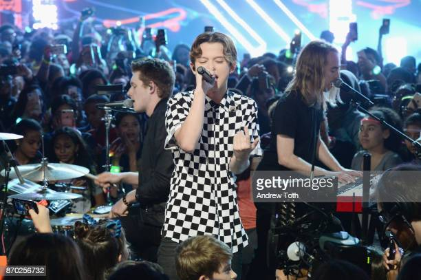 Jacob Sartorius performs during the 2017 Nickelodeon HALO Awards at Pier 36 on November 4 2017 in New York City