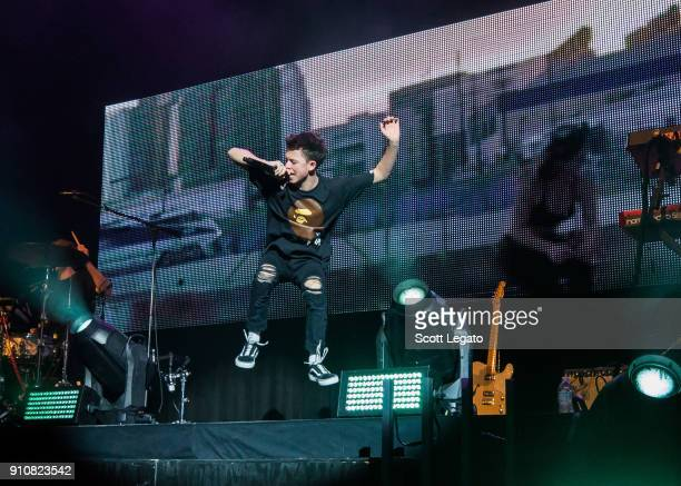 Jacob Sartorius performs in support of his The Left Me Hanging Tour at The Fillmore on January 26 2018 in Detroit Michigan