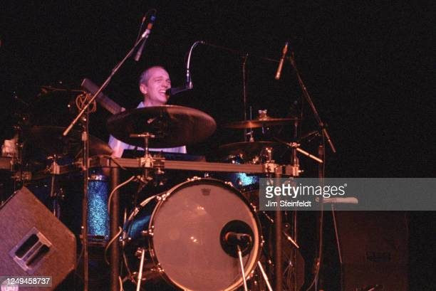 Jacob Slichter of the rock band Semisonic performs at the Universal Amphitheatre in Los Angeles, California on August 28, 1998.