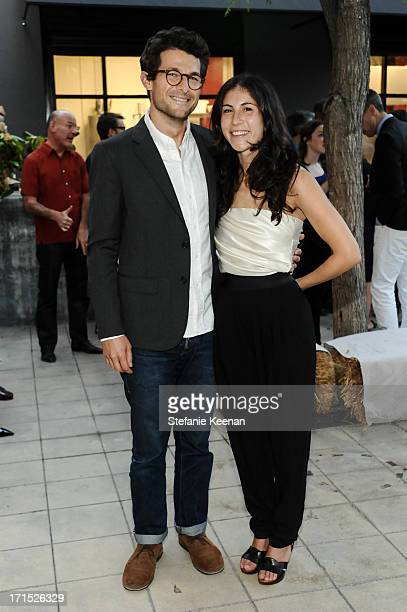 Jacob Soboroff and Nicole Cari attend Band of Outsiders and Bon Appetit Host A Dinner In Celebration Of The Publication Of Kevin West's Saving the...