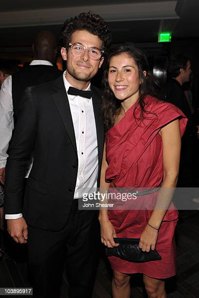 Jacob Soboroff and Nicole Cari attend the AMC After Party for the 62nd Annual EMMY Awards at Soho House on August 29 2010 in West Hollywood California