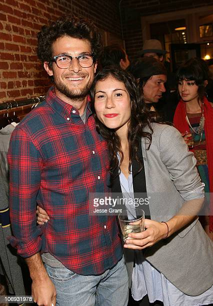 Jacob Soboroff and Nicole Cari attend the special edition of GQ The Style Manual celebration at Confederacy on November 16 2010 in Los Angeles...