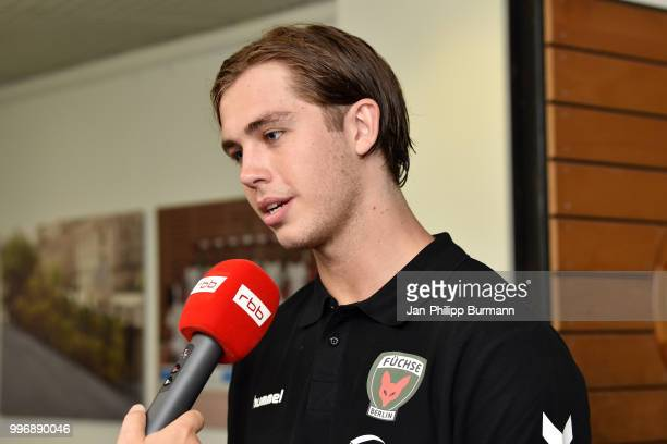 Jacob Tandrup Holm during the media talk at FuechseTown on july 11 2018 in Berlin Germany