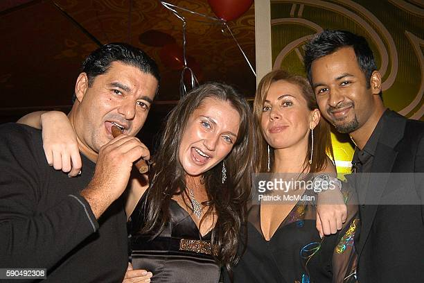 Jacob the Jeweler Anna Anisimova Inga Rubenstein and Ronnie Madra attend Russian New Year's Party Hosted by Jacob Co Anna Anisimova at Gypsy Tea on...