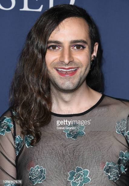 Jacob Tobia arrives at the Premiere Of Focus Features' Boy Erased at Directors Guild Of America on October 29 2018 in Los Angeles California