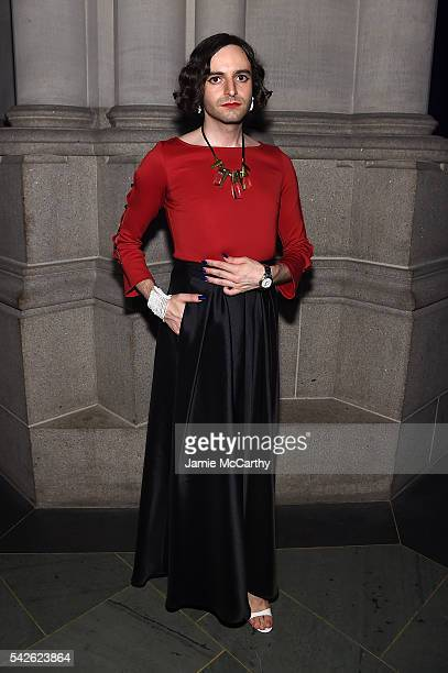 Jacob Tobia attends 2016 Logo's Trailblazer Honors at Cathedral of St John the Divine on June 23 2016 in New York City