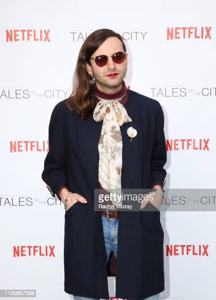 Jacob Tobia attends Netflix's Tales of The City Special Screening at the Los Angeles LGBT Center on May 21 2019 in Los Angeles California