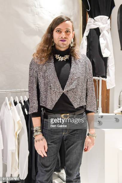 Jacob Tobia attends Phluid Project A Seat at The Table at The Phuild Project on February 1 2018 in New York City