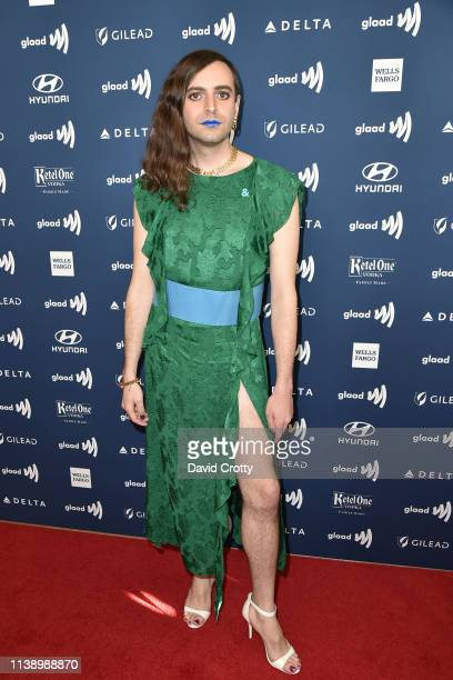 Jacob Tobia attends the 30th Annual GLAAD Media Awards at Beverly Hills Hotel on March 28 2019 in Beverly Hills California
