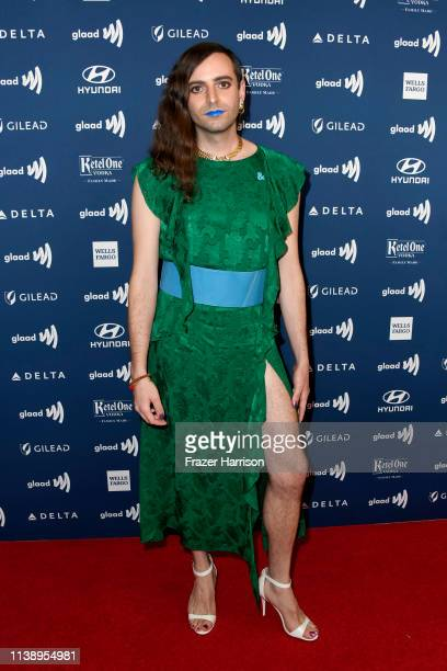 Jacob Tobia attends the 30th Annual GLAAD Media Awards at The Beverly Hilton Hotel on March 28 2019 in Beverly Hills California
