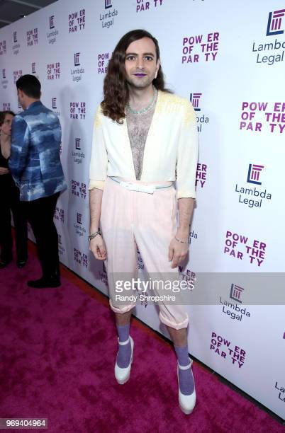 Jacob Tobia attends the Lambda Legal 2018 West Coast Liberty Awards at the SLS Hotel on June 7 2018 in Beverly Hills California