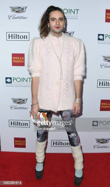 Jacob Tobia attends the Point Foundation Honors Los Angeles 2018 Gala at The Beverly Hilton Hotel on October 13 2018 in Beverly Hills California