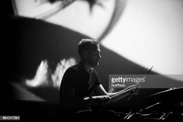 Jacob Tomsky of the american ambient pop band Cigarettes After Sex performing live at Fabrique in Milan Italy on 1st December 2017