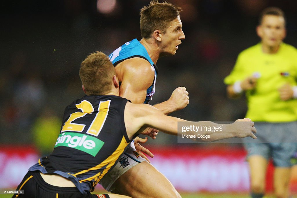Richmond v Port Adelaide - 2016 AFL NAB Challenge