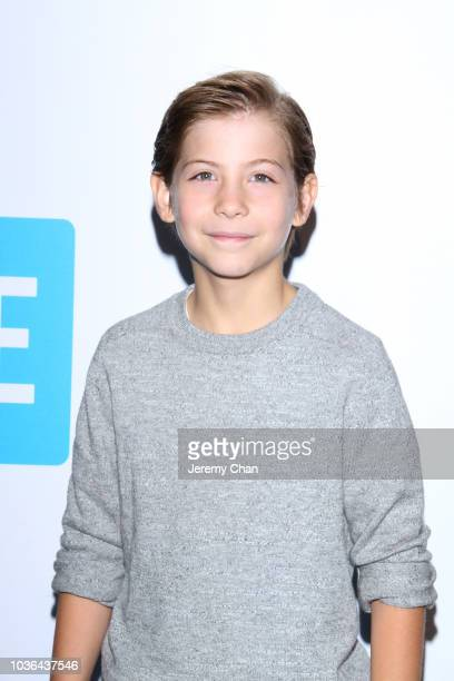 Jacob Tremblay arrives to WE Day Toronto and the WE Carpet at Scotiabank Arena on September 20 2018 in Toronto Canada