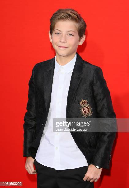 """Jacob Tremblay attends the premiere of Universal Pictures' """"Good Boys"""" at the Regency Village Theater on August 14, 2019 in Westwood, California."""