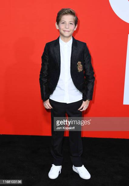 """Jacob Tremblay attends the Premiere Of Universal Pictures' """"Good Boys"""" at Regency Village Theatre on August 14, 2019 in Westwood, California."""