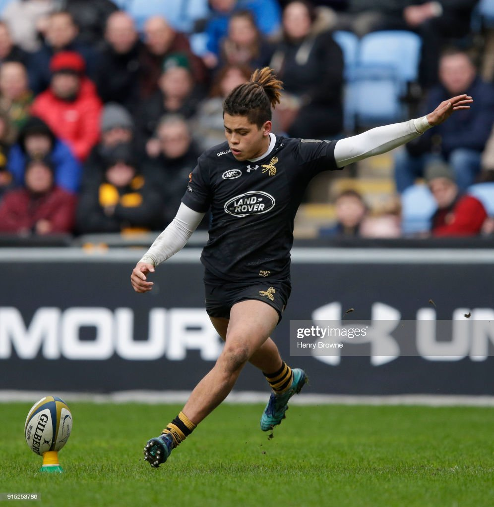 Wasps v Leicester Tigers - Anglo-Welsh Cup : News Photo