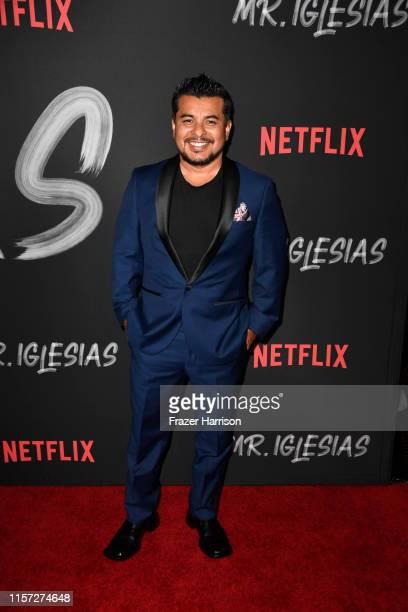 Jacob Vargas attends Season 1 Premiere Of Netflix's Mr Iglesias at Regal Cinemas LA Live on June 20 2019 in Los Angeles California
