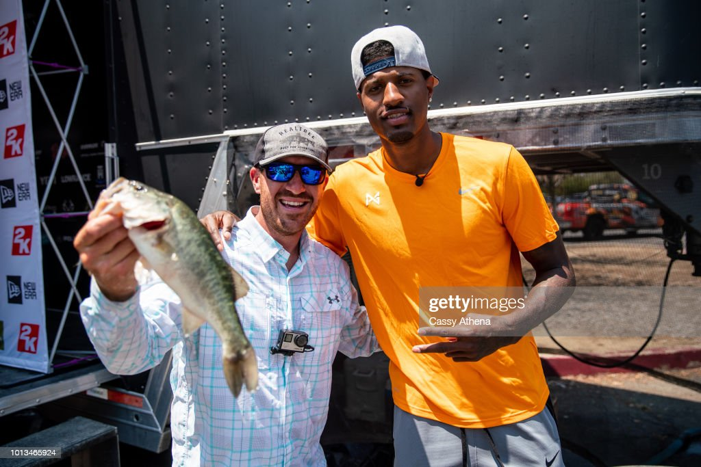 Paul George Hosts 2nd Annual Celebrity Fishing Tournament : News Photo
