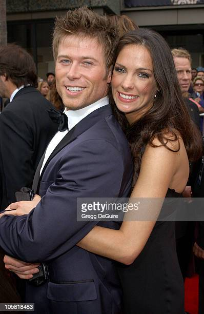Jacob Young and guest during 33rd Annual Daytime Emmy Awards Arrivals at Kodak Theatre in Hollywood CA United States