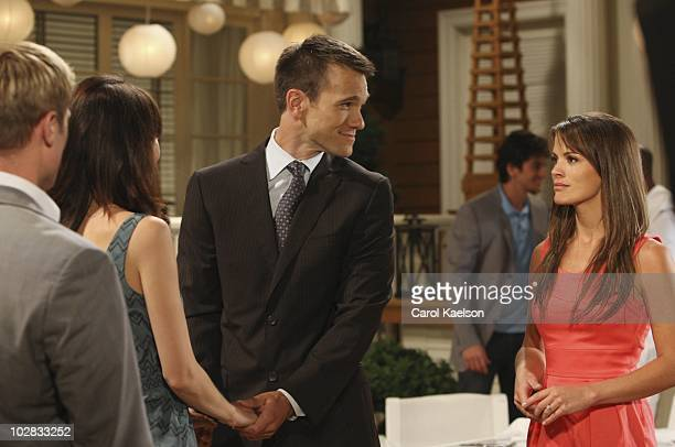 CHILDREN Jacob Young Brittany Allen Adam Mayfield and Melissa Claire Egan in a scene that airs the week of July 19 2010 on Walt Disney Television via...