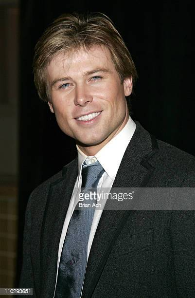 Jacob Young during ABC Daytime Salutes Broadway Cares/Equity Fights AIDS Benefit After Party at Marriott Marquis in New York City New York United...