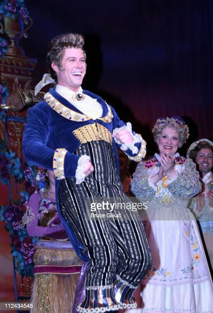 Jacob Young during Soap Star Jacob Young joins 'Beauty and The Beast' on Broadway at The Lunt Fontanne Theater in New York NY United States