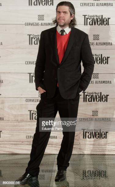 Jacobo FitzJames Stuart attends the 'Conde Nast Traveler Gastronomic and Wine Guide' photocall at Florida Retiro on December 11 2017 in Madrid Spain