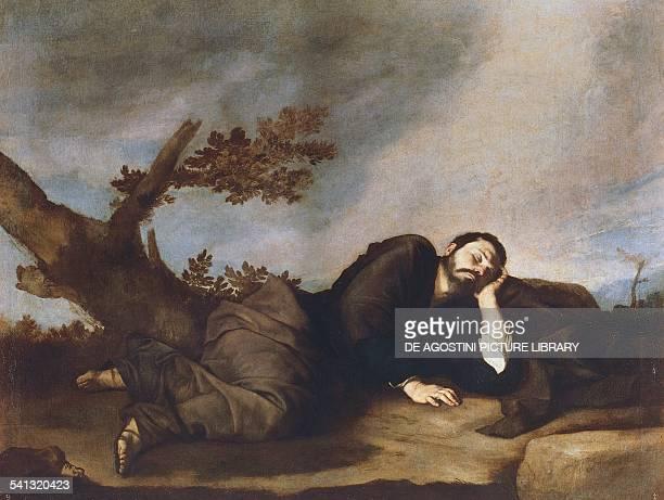Jacob's Dream by Jusepe de Ribera known as Spagnoletto oil on canvas 179x233 cm Madrid Museo Del Prado