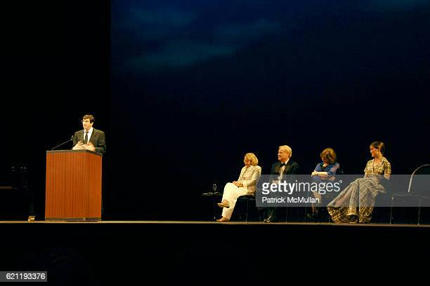 AJ Jacobs Liz Smith Chris Matthews Azar Nafisi and Ann Patchett attend Literacy Partners Hosts Annual Gala 'An Evening of Readings' Honoring David...