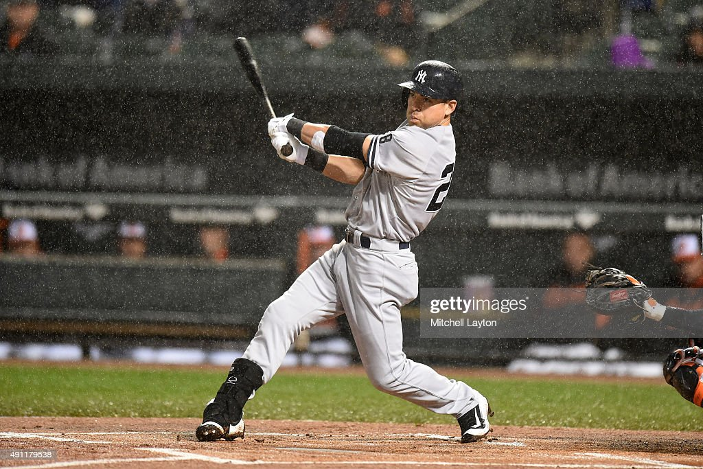 New York Yankees at Baltimore Orioles - Game Two : News Photo