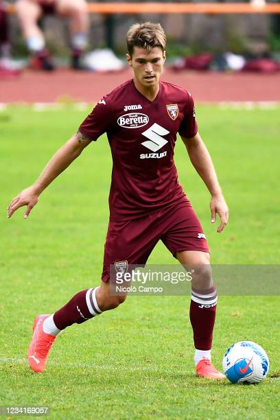 Jacopo Segre of Torino FC in action during the pre-season friendly football match between Torino FC and SSV Brixen. Torino FC won 5-1 over SSV Brixen.