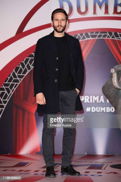 Jacopo Venturiero attends a photocall for Dumbo at The Space Cinema Moderno on March 26 2019 in Rome Italy