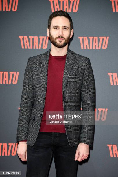 Jacopo Venturiero attends TATATU Cocktail Party on March 06 2019 in Rome Italy
