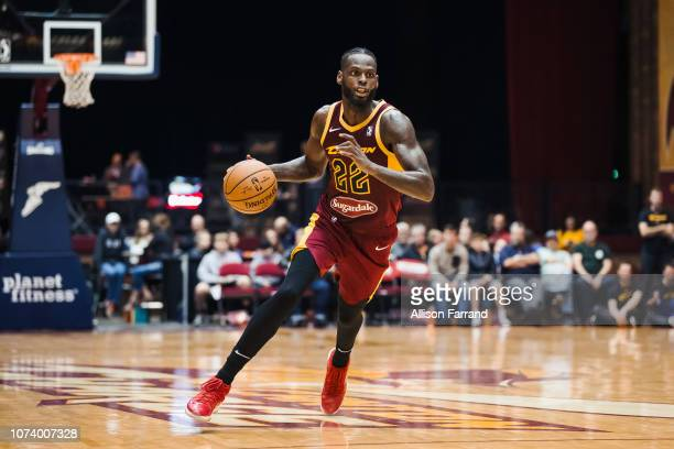 Jacorey Williams of the Canton Charge drives to the basket against the Greensboro Swarm on December 15 2018 at the Canton Memorial Civic Center in...