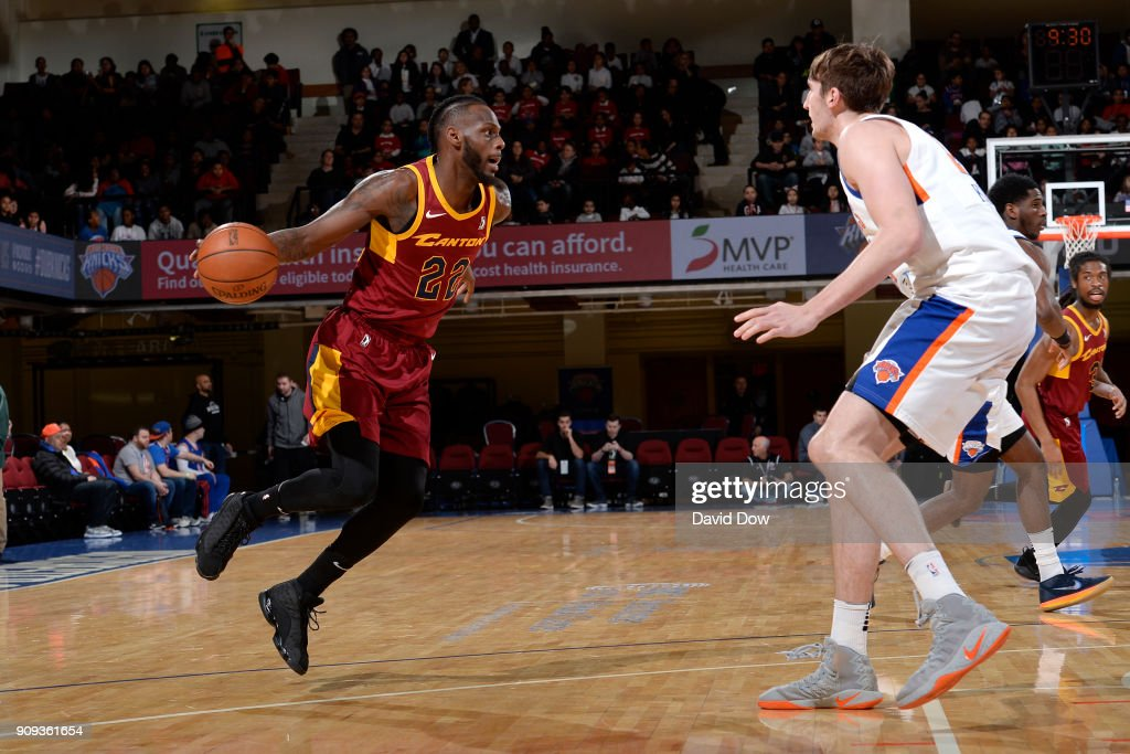 Canton Charge v Westchester Knicks