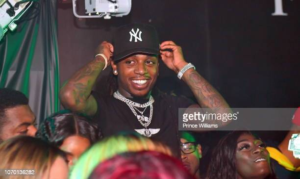 Jacquees attends Future's 'Future City' Birthday Party at Magic City on November 20 2018 in Atlanta Georgia