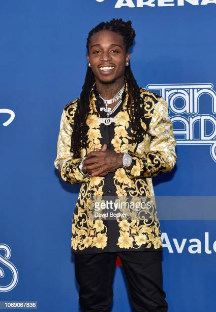Jacquees attends the 2018 Soul Train Awards at the Orleans Arena on November 17 2018 in Las Vegas Nevada