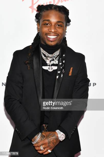 Jacquees attends the Universal Music Group's 2019 After Party To Celebrate The GRAMMYs at ROW DTLA on February 10 2019 in Los Angeles California