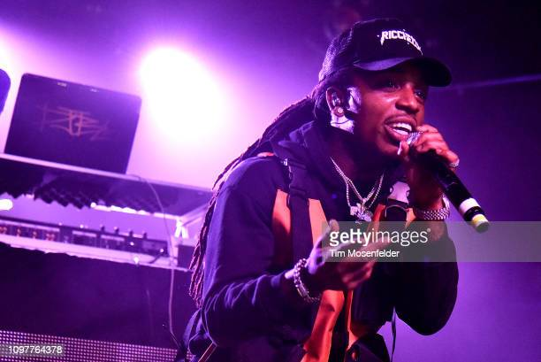Jacquees performs during his 4275 Tour at Ace of Spades on January 21 2019 in Sacramento California