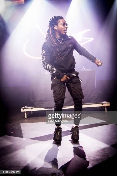 Jacquees performs on stage at o2 Forum Kentish Town on April 10, 2019 in London, England.