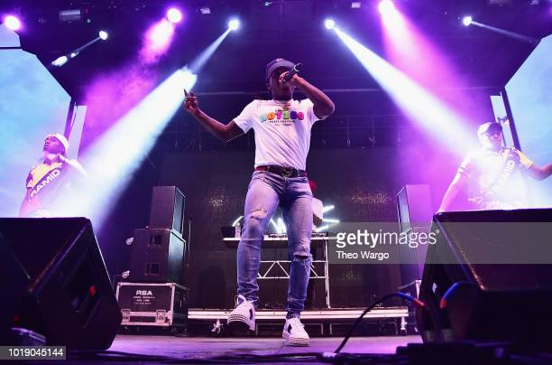 Jacquees performs onstage during Day 1 of Billboard Hot 100 Festival 2018 at Northwell Health at Jones Beach Theater on August 18 2018 in Wantagh New...